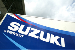 Suzuki MotoGP transporter