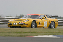 #6 GLPK-Carsport Corvette C5R: Anthony Kumpen, Bert Longin, Mike Hezemans