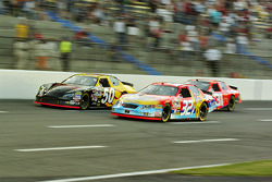 Bobby Hamilton Jr., Jimmy Spencer and Jeff Burton