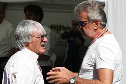 Bernie Ecclestone and Willi Weber