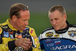 Ken Schrader and Mark Martin