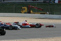 Ralf Schumacher stopped