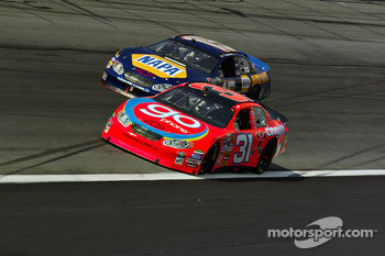 Jeff Burton and Michael Waltrip
