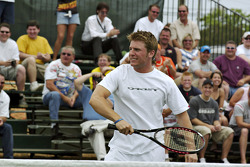 Tennis exhibition match: Jamie McMurray