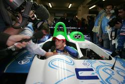 Massive media attention for Sébastien Loeb