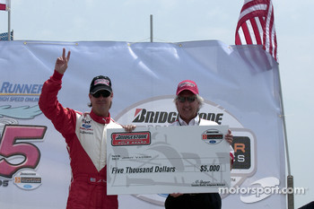 Pole winner Jimmy Vasser