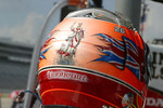 Dan Wheldon's Lionheart helmet