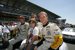 Olivier Gavin, Oliver Beretta and Jan Magnussen