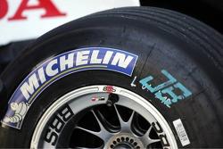 A Michelin tire