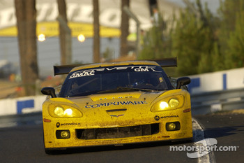 #64 Corvette Racing Corvette C6-R: Olivier Gavin, Oliver Beretta, Jan Magnussen