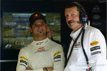 Guenther Steiner and Vitantonio Liuzzi