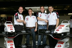 Jock Clear and Gil de Ferran announce young driver programme with Adam Carroll and James Rossiter