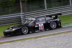 #68 JMB Racing Ferrari 575 GTC: Peter Kutemann, Antoine Gosse, Hans Hugenholtz