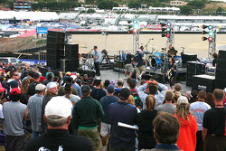 The band Smash Mouth played an excellent set for the MotoGP crowd Saturday night