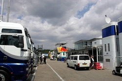 Preparation in the paddock