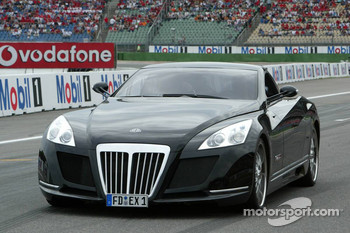 The Maybach Coupe Concept