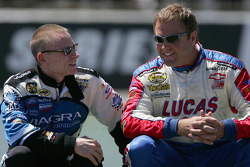 Mark Martin and Mike Wallace