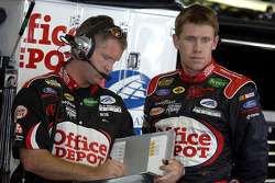 Carl Edwards and crew chief Bob Osborne