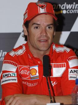 Press conference: Carlos Checa