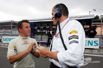 Christian Klien and Gunther Steiner