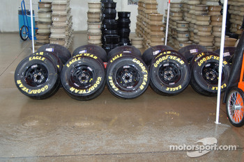 Good Year tires ready to go