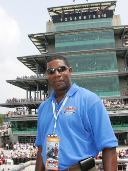 Actor Dennis Haysbert, Grand Marshall for the Brickyard 400