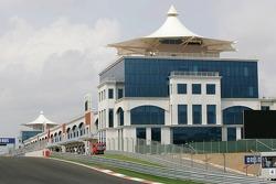 Pit complex at Istanbul Otodrom