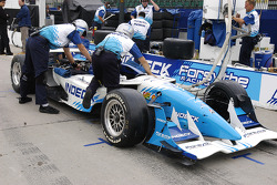Forsythe Racing pit area