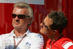 Willi Weber and Michael Schumacher