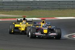 David Coulthard and Tiago Monteiro