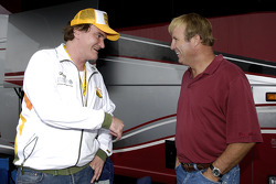 Quentin Tarantino and Sterling Marlin