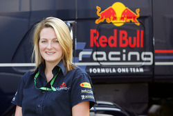 Red Bull Racing IT engineer Faye Wilson