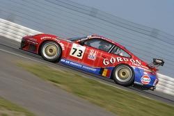 #73 Ice Pol Racing Team Porsche 996 GT3 RSR: Yves Lambert, Christian Lefort, Markus Palttala