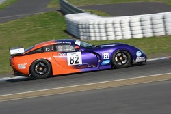 #82 Team LNT TVR Tuscan T400R: Patrick Pearce, Marc Hynes, Lawrence Tomlinson