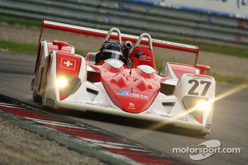 #27 Horag Lista Racing Lola B05/40 - Judd: Fredy Lienhard, Didier Theys