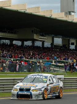Mark Winterbottom on pit straight