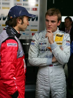 Heinz-Harald Frentzen and Jamie Green