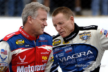 Ricky Rudd and Mark Martin