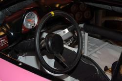 Cockpit of Al Unser, Jr.'s IROC Dodge Avenger
