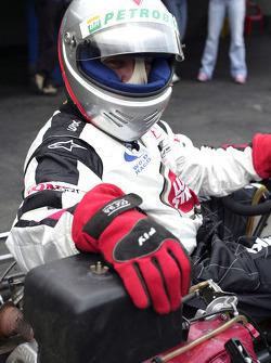 Go-kart event in Sao Paulo