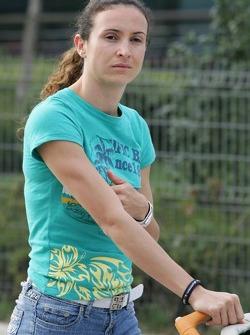 Maureen Maggi, girlfriend of Antonio Pizzonia
