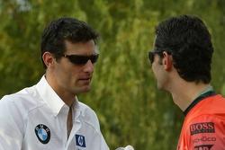 Mark Webber and Pedro de la Rosa