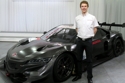 Oliver Turvey with the Honda Super GT entry