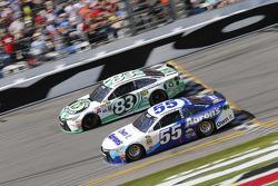 Johnny Sauter, BK Racing Toyota, Michael Waltrip, Michael Waltrip Racing Toyota