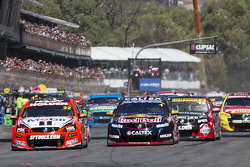 Start: James Courtney, Holden Racing Team leads