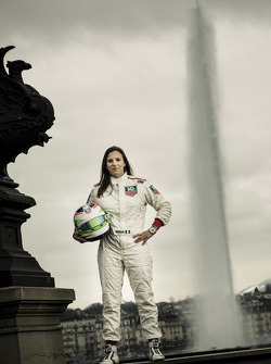 Simona de Silvestro during a media appearance in Geneva