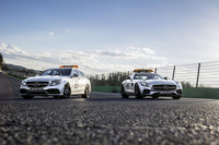 Mercedes-AMG GT S safety car and C 63 S medical car