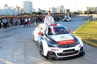 Jose Maria Lopez, Citroen C-Elysee WTCC, Citroën Total WTCC during a roadshow in Cordoba