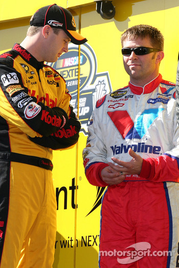 Travis Kvapil and Scott Riggs
