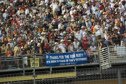 Messages from the fans to Rusty Wallace
